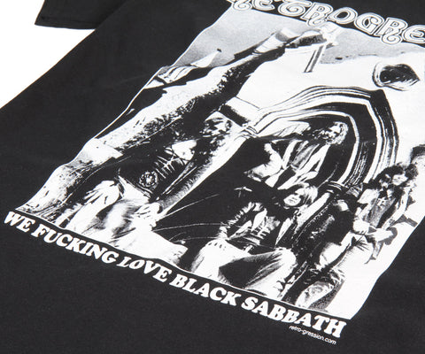 "Retrogression ""We Fucking Love Black Sabbath"" t-shirt"
