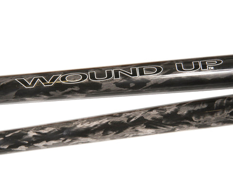 "Wound Up Zephyr carbon track fork - 1"" threaded steerer"