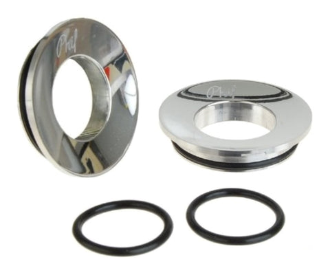 Phil Wood bottom bracket mud guards