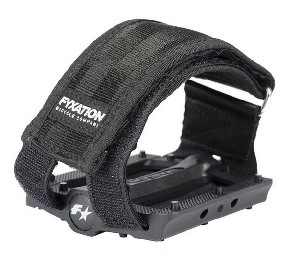 Fyxation Gates Slim pedals & straps combo - Retrogression