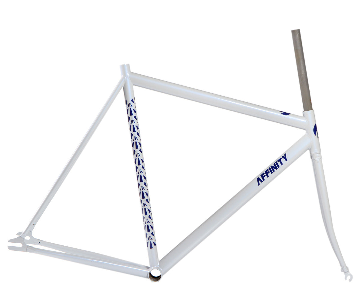 Affinity Lo Pro frameset - 18% gray (w/ FREE Chris King headset) - Retrogression