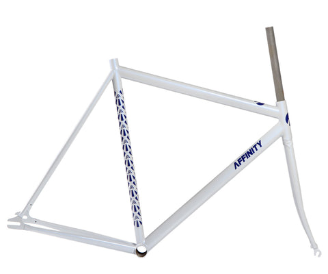 Affinity Lo Pro frameset - 18% light gray - Retrogression