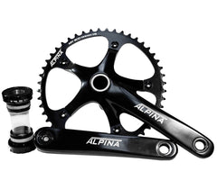 Alpina track crankset w/ bottom bracket - Retrogression