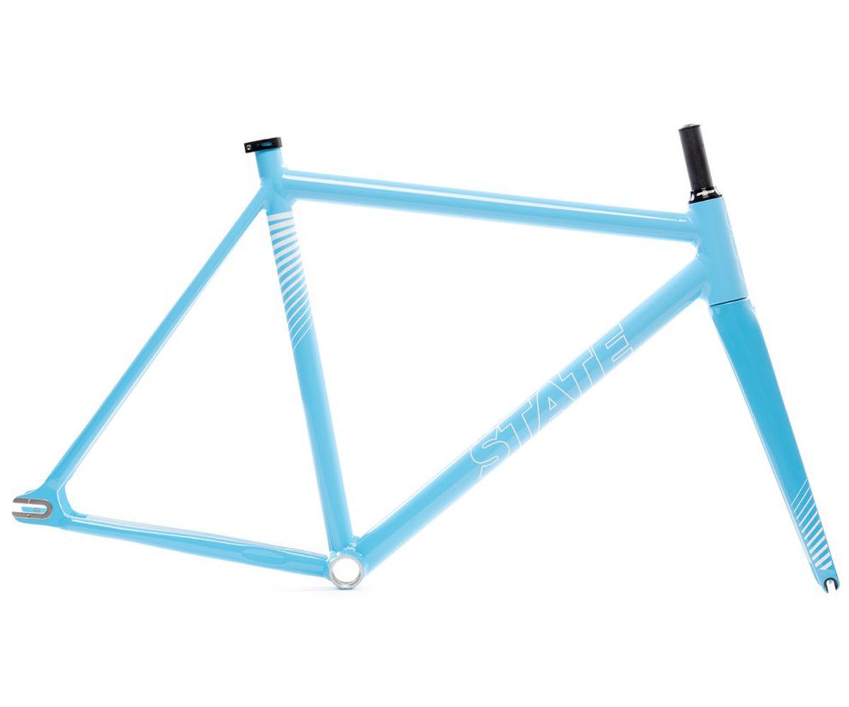 State Bicycle Co. Undefeated II frameset - Photon Blue
