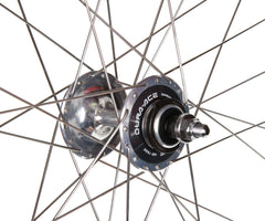 H+Son Archetype/Dura Ace 7600 wheelset - silver