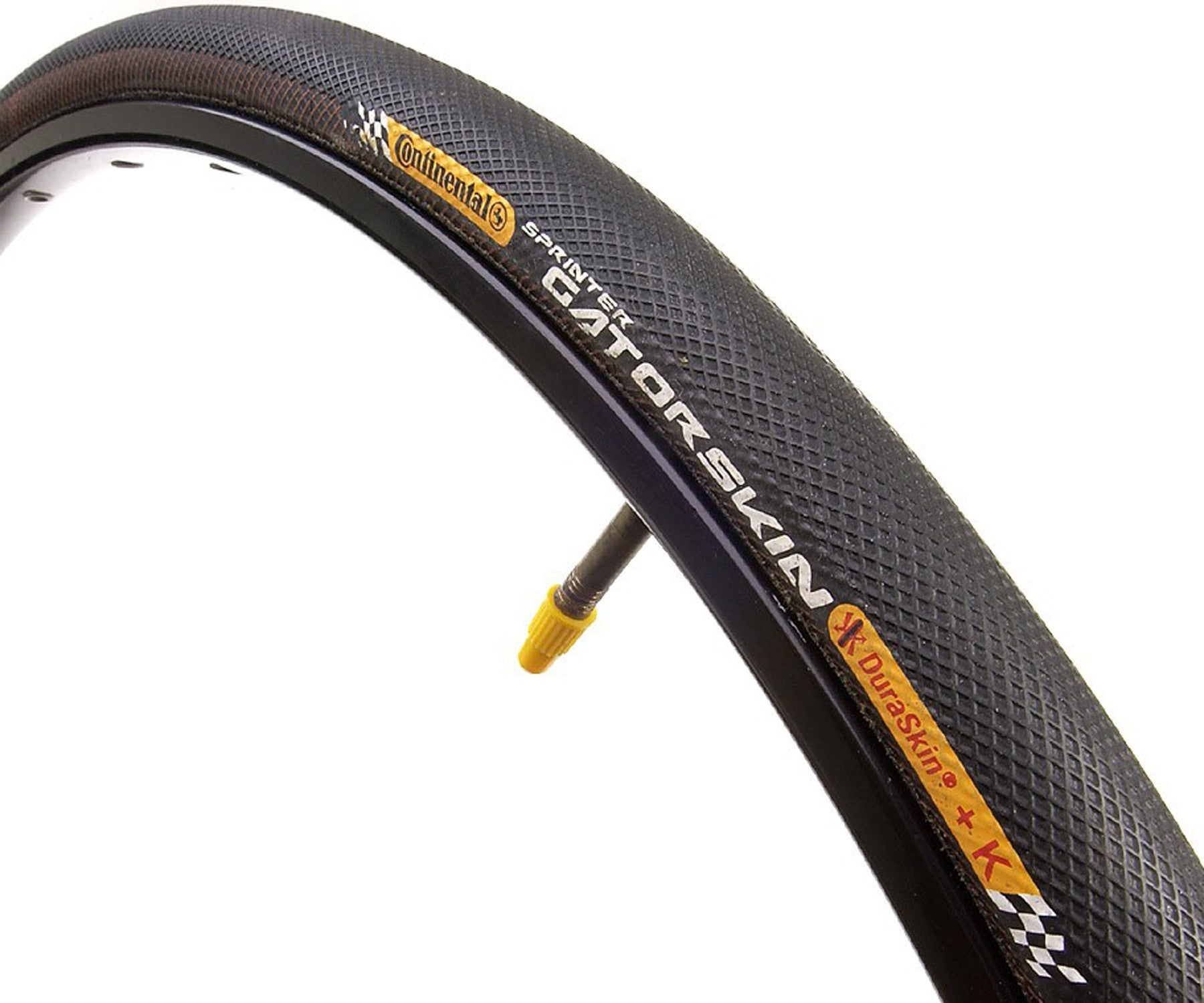 Continental Sprinter Gatorskin tubular tire - Retrogression