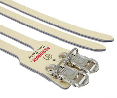 Kashimax Dual Sprint Olympic NJS laminated leather double straps - Retrogression