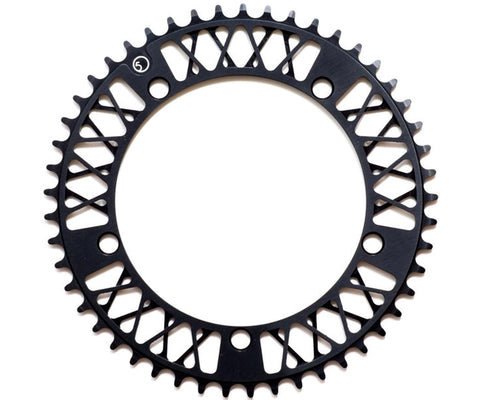 Factory Five Lattice chainring - black
