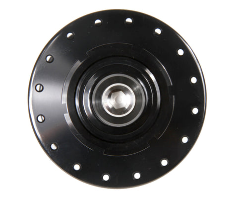 Mack Superlight high flange rear hub - black WCS