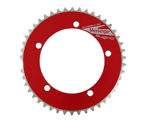 NOS Sugino Messenger chainring - anodized colors