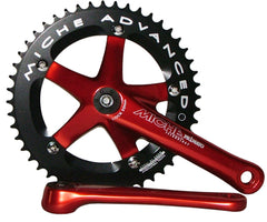 NOS Miche Primato Advanced track ISO crankset - various colors - Retrogression