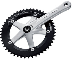 Miche Primato Advanced track JIS crankset - silver - Retrogression