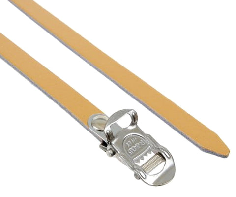 MKS Fit-A Spirit leather single toe straps