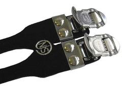 MKS Fit-A Sports NJS laminated leather double straps - Retrogression