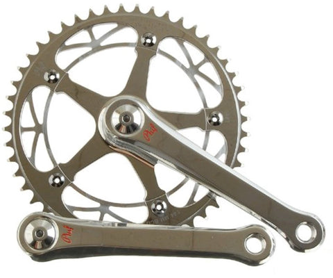 Phil Wood track crankset - silver