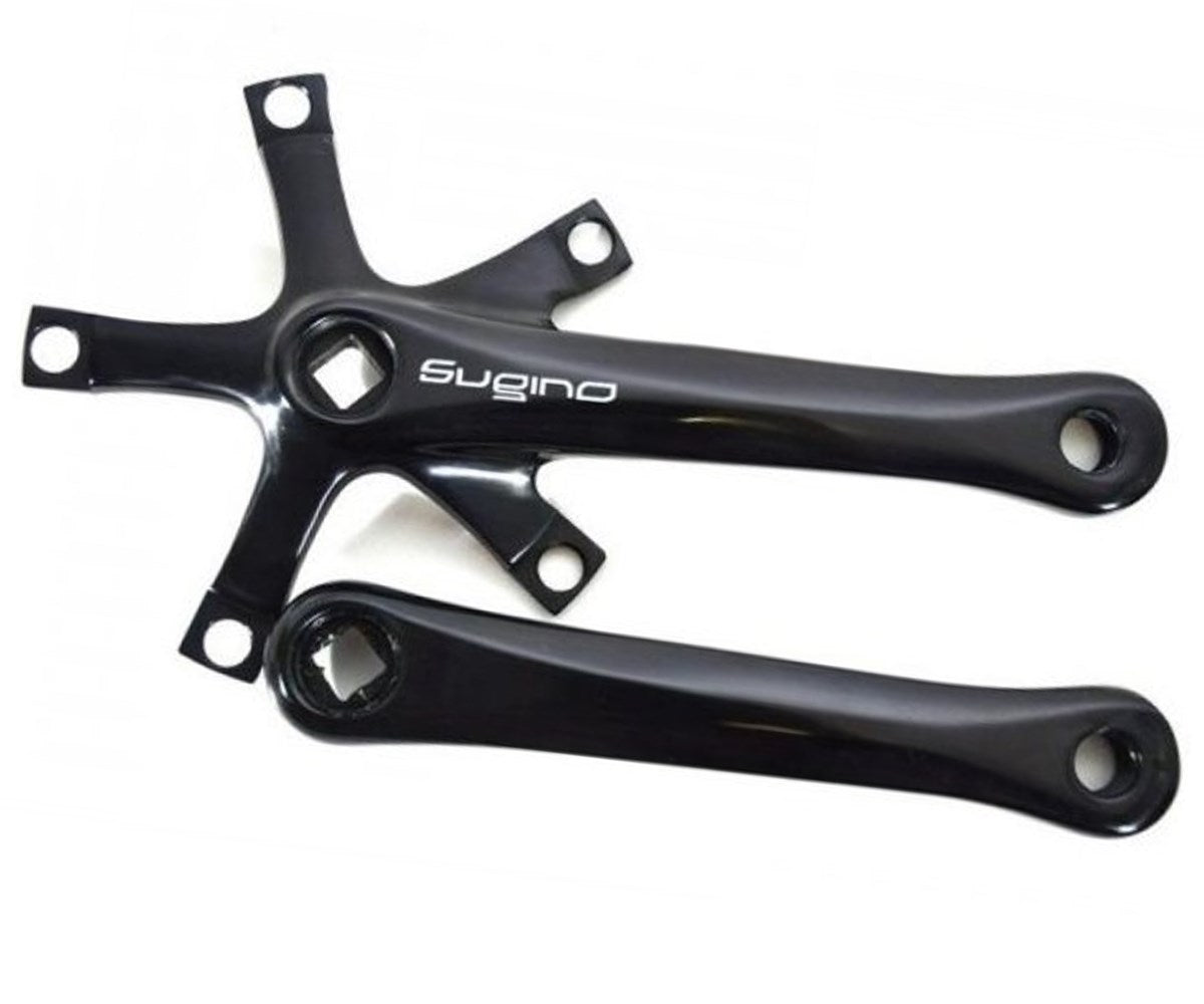 Sugino RD2 crank arms - black - Retrogression