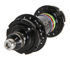 Mack Superlight low flange rear hub - black WCS - Retrogression