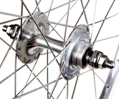 H+Son TB14/Gran Compe wheelset - silver - Retrogression