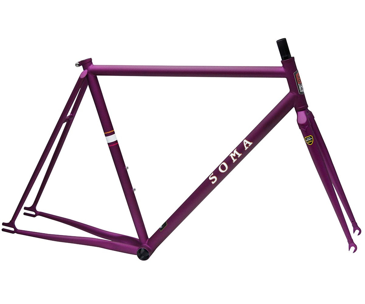 Soma Rush frameset - Matte Purple - Retrogression