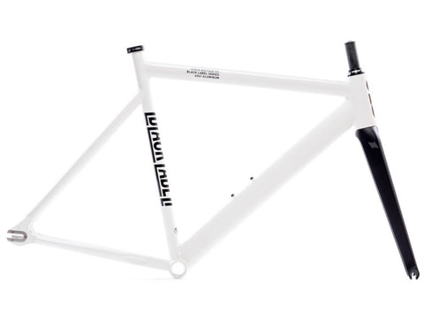 State Bicycle Co. 6061 Black Label V2 frameset - Pearl White