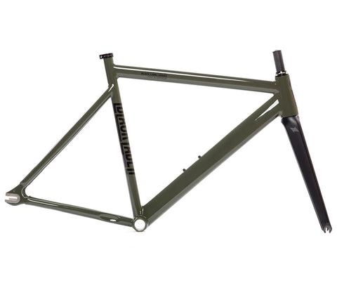 State Bicycle Co. 6061 Black Label V2 frameset - Army Green