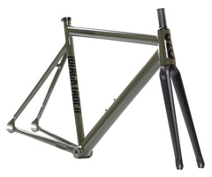 State Bicycle Co. 6061 Black Label V2 frameset - Army Green - Retrogression
