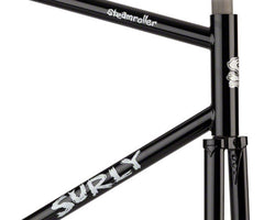 Surly Steamroller frameset - black - Retrogression
