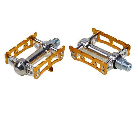 NOS MKS Sylvan Track pedals - anodized colors - Retrogression