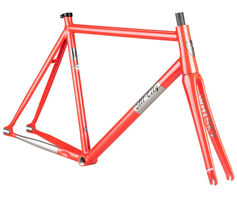 All-City Thunderdome frameset - Polished Pearl