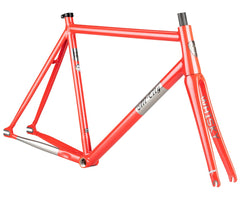 All-City Thunderdome frameset - Polished Pearl - Retrogression
