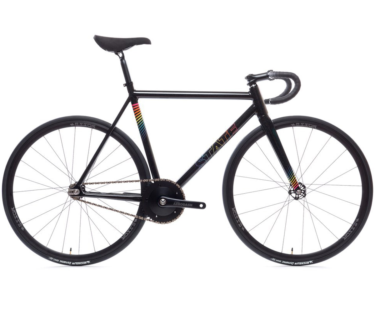 State Bicycle Co. Undefeated II complete bike - Black Prism - Retrogression