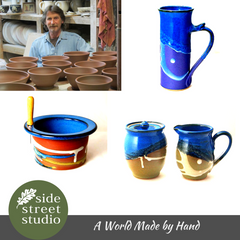 DARREL HANCOCK POTTERY MUGS
