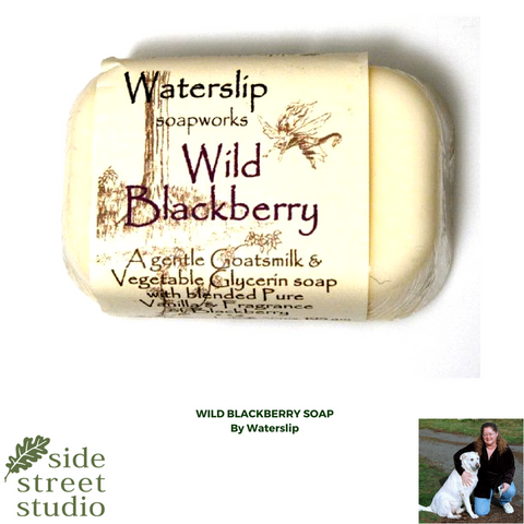 wild blackberry soap