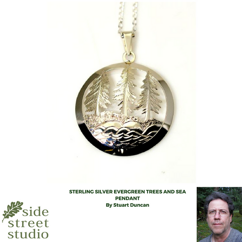 stirling  silver pendant