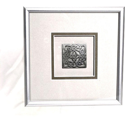 PEWTER CELTIC KNOT PICTURE - Side Street Studio