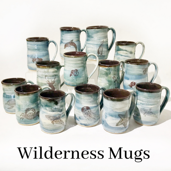 Wendy Squirrell Pottery Wilderness Mug
