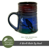 SMALL CROW AND MOON MUG - Side Street Studio - 2