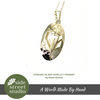 FAWN LILY PENDANT STERLING SLIVER - Side Street Studio - 2