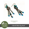 ATLANTIS GREEN EARRINGS - Side Street Studio - 2