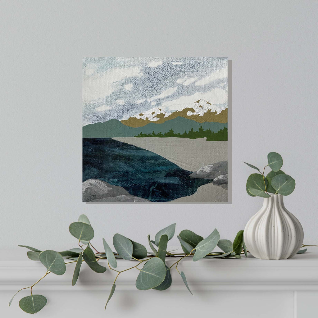 Original Acrylic Paintings - Calm Coast