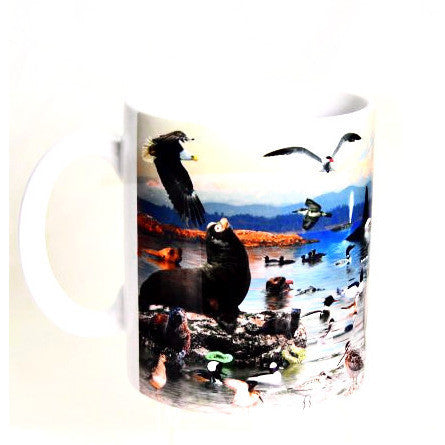 PACIFIC COAST WILDLIFE MUG - Side Street Studio  - 1