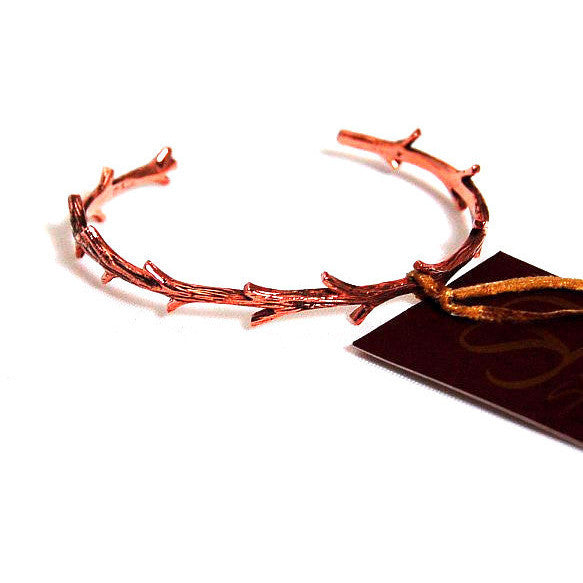 COPPER TWIG CUFF BRACELET - Side Street Studio