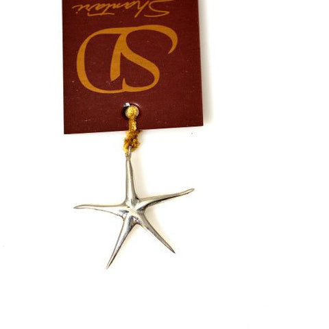 STERLING SILVER STARFISH PENDANT - Side Street Studio