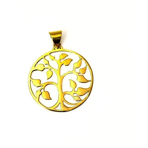 BRONZE TREE OF LIFE  PENDANT - Side Street Studio