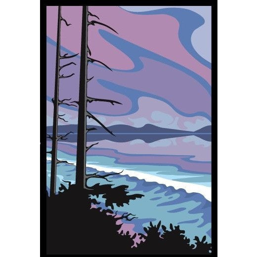 CHIN BEACH WEST ACRYLIC BLOCK MOUNT PRINT