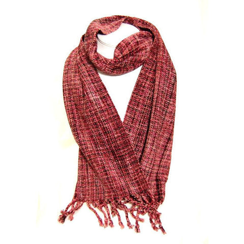 SOFT HAND WOVEN SCARF - Side Street Studio - 1