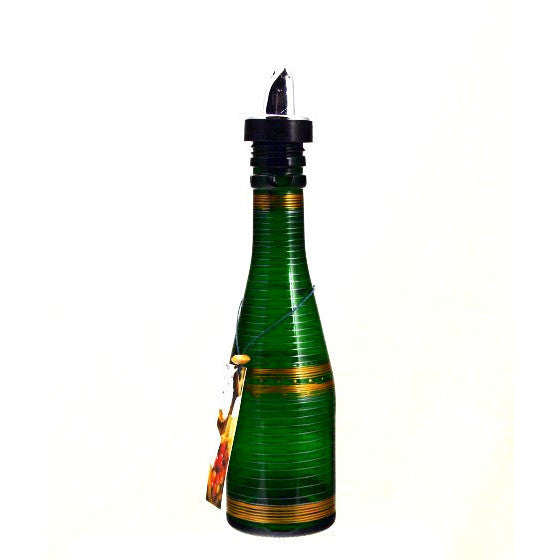 SMALL CHAMPAGNE BOTTLE GREEN - Side Street Studio