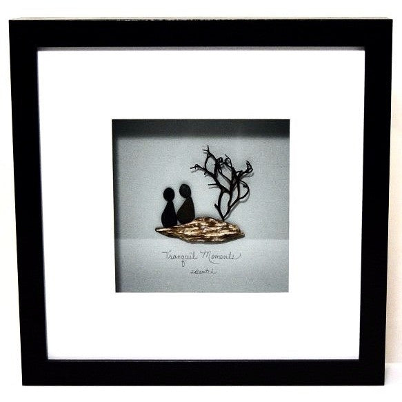 TRANQUIL MOMENTS SHADOW BOX