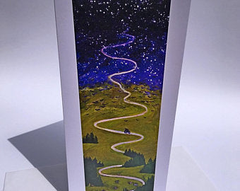 Journey II, Tall Greeting Card