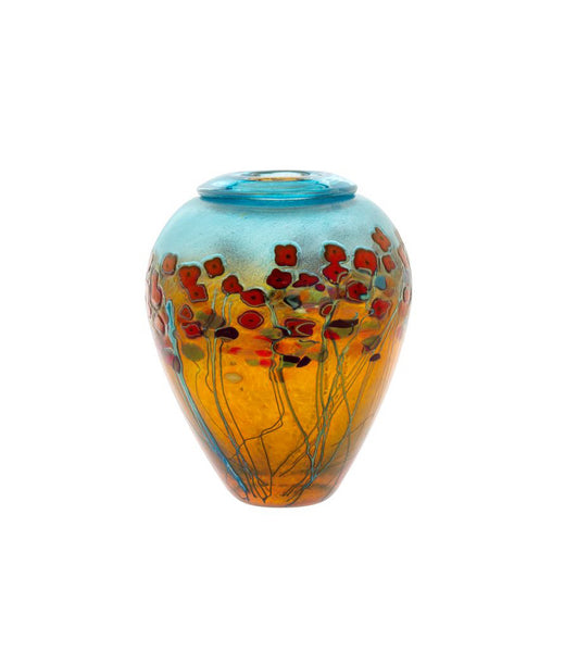 Robert Held California Poppy Ginger Pot Vase - Dropship